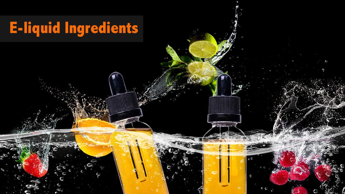 Vape Juice Ingredients