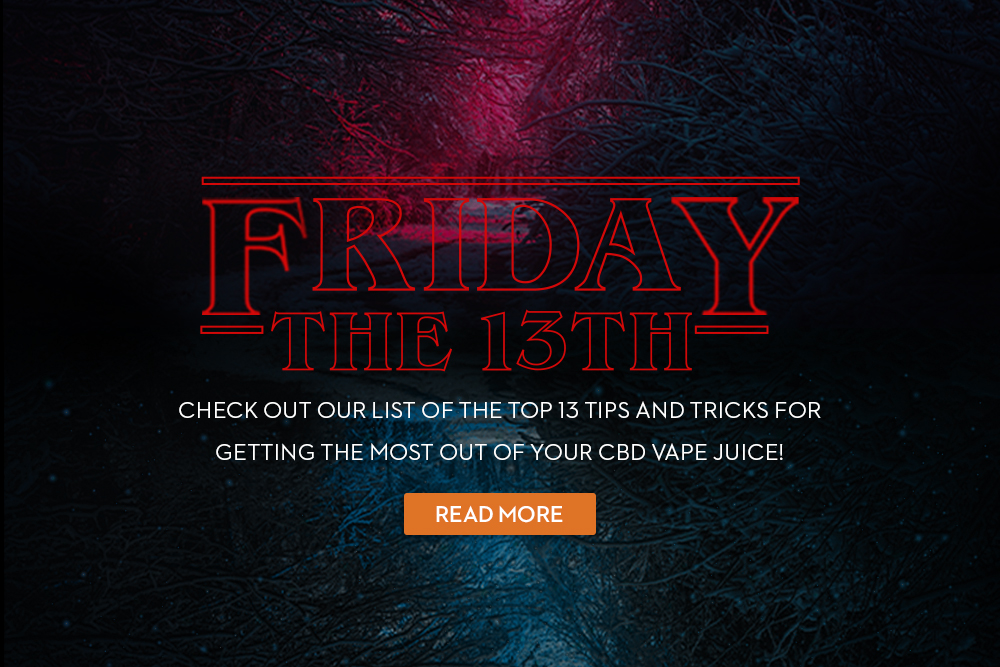 Friday the 13th CBD Deals