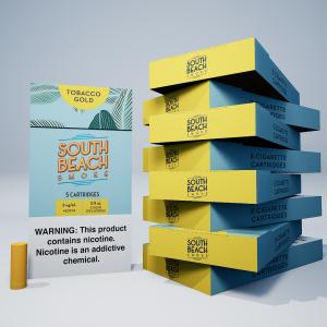 Deluxe Cartridges (45-Pack) - Golden Tobacco