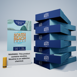 DELUXE CARTRIDGES (45-PACK) - TOBACCO BLUE