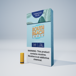 Deluxe Cartridges (5-Pack) - Tobacco Blue Bundle